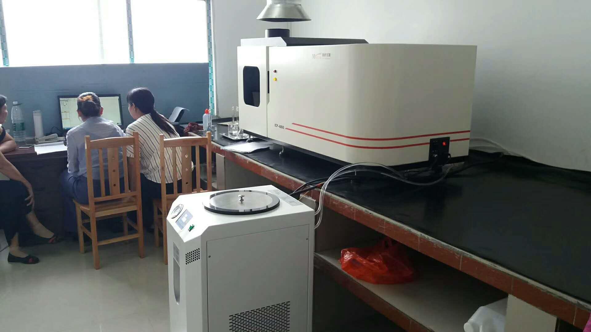 ICP光谱仪安装现场